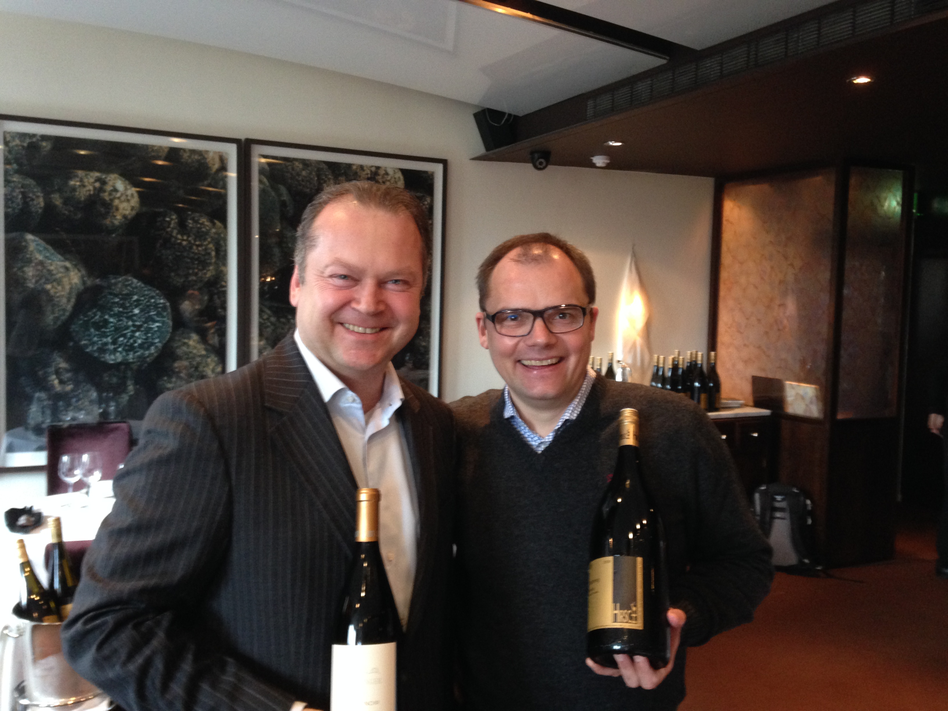 TWO AUSTRIAN WINEMAKERS